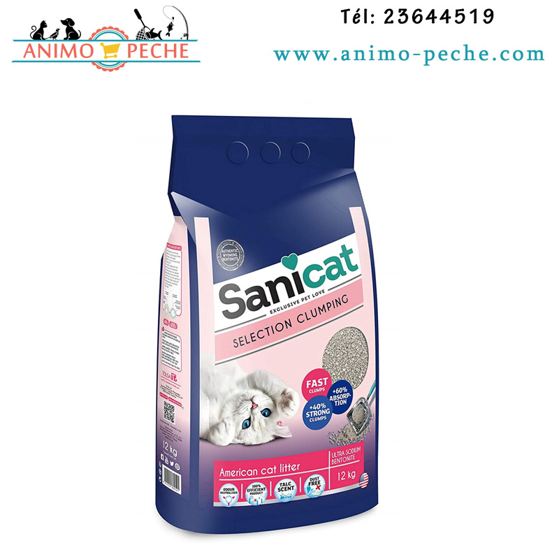 SANICAT Litiere Selection Clumping American