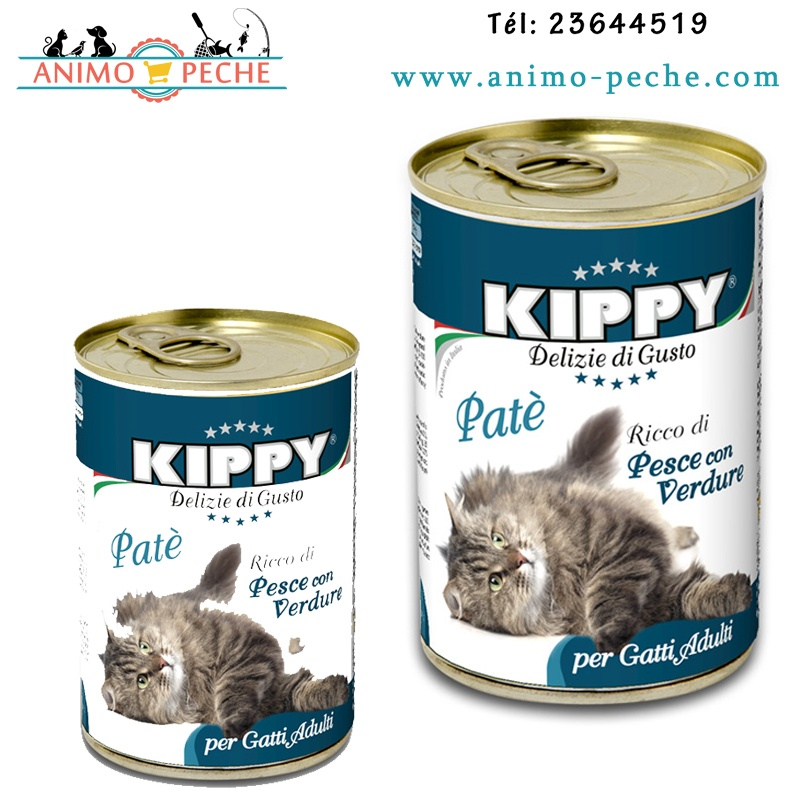 Kippy chat Poisson
