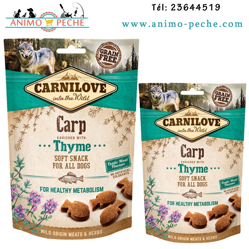 Carnilove dog snack carpe