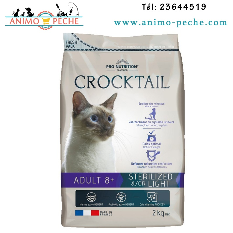 Crocktail Adult 8+ Sterilised Light