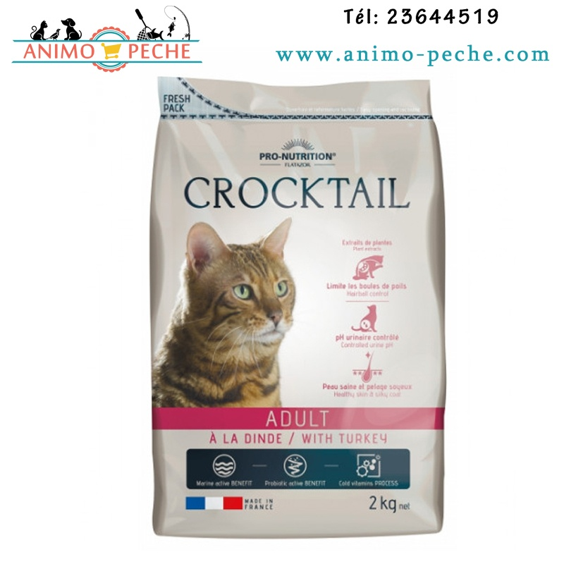Croquettes Crocktail Adult Flatazor Pro Nutrition